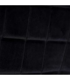 Chaises X2 Brisbane Noir