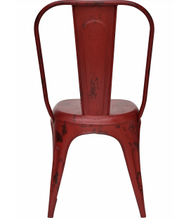 Chaise Old Factory Red