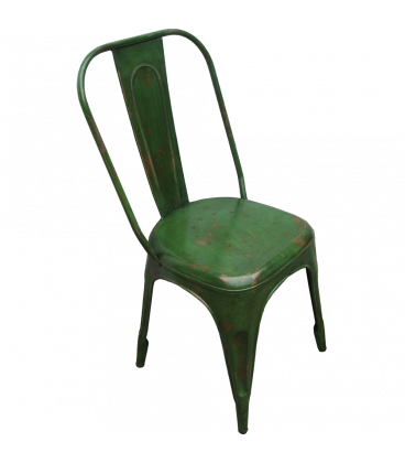Chaise Old Factory Green