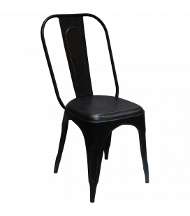 Chaises X4 Old Factory Antik Black