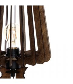 Lampe Wood Brown
