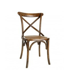 Chaises X2 Bristol Orme Brown