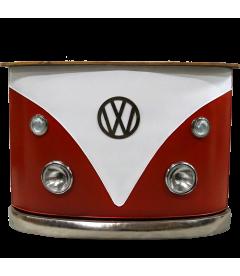 Comptoir de Bar Look Volkswagen Rouge