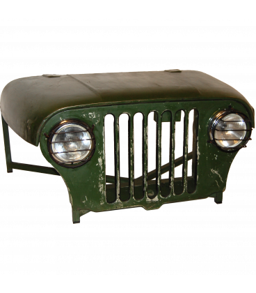 Table Basse Vieille Jeep