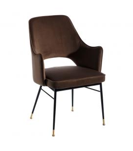 Chaise avec Accoudoirs Slott Café