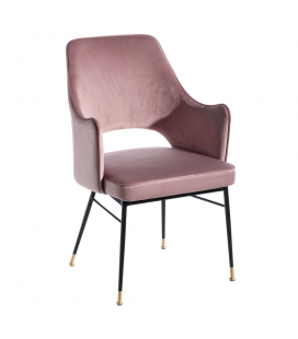 Chaise avec Accoudoirs Slott Rose