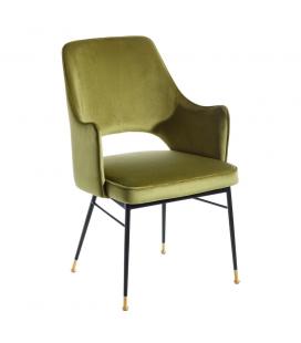 Chaise avec Accoudoirs Slott Vert