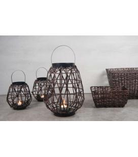 Lanterne Tissage de Rotin Lux D&M