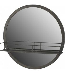 Miroir Etagère Rond