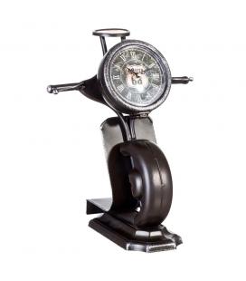 Horloge Scooter Noir