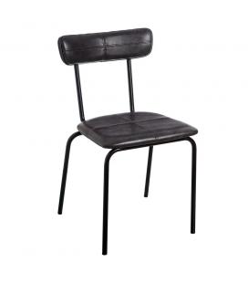 Chaise Straight Line Noir