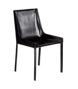 Chaise Tallinn Cuir Noir