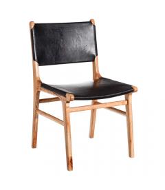 Chaise Piel Noir