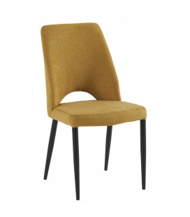 Chaise Minsk Jaune Moutarde