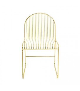 Chaise Friend Dining Gold Bloomingville