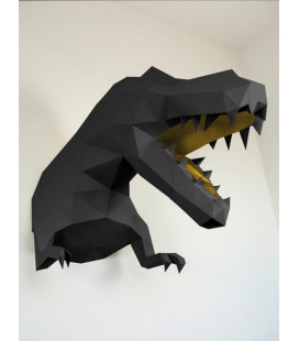 T-Rex Noir & Or DIY - Colle Offerte