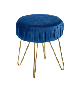 Tabouret Bas Hobby II Bleu