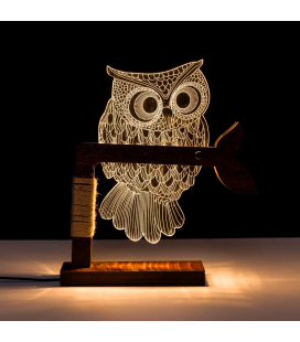 Lampe LED USB Owl