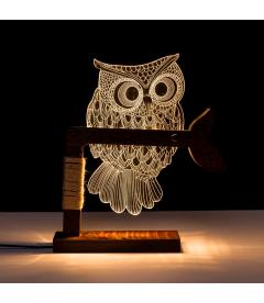 Lampe LED USB Owl