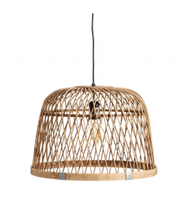 Suspension Naturel Bambou 41X41X29cm