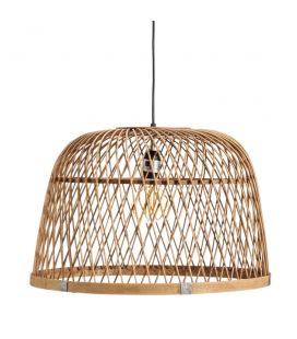 Suspension Naturel Bambou 50X50X33cm