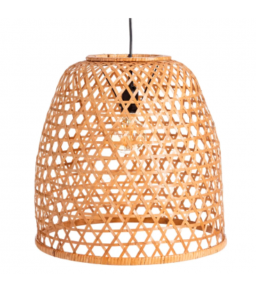 Suspension Naturel Bambou 42X42X42cm