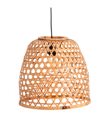 Suspension Naturel Bambou 37X37X34cm