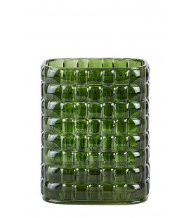 Vase Dark Green 15cm