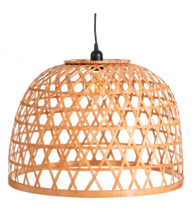 Suspension Naturel Bambou 54x54x35.5cm