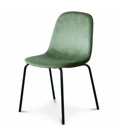 Chaise Felix Velours Vert Olive