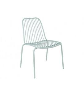 Chaise Lineate Vert - Outdoor Leitmotiv