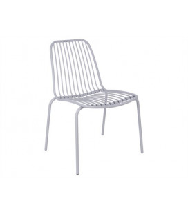 Chaise Lineate Gris - Outdoor Leitmotiv