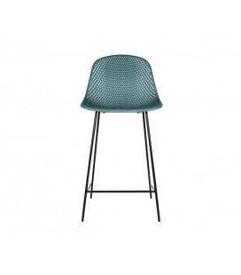 Chaise de Bar Diamond Mesh Bleu