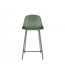 Chaise de Bar Diamond Mesh Vert
