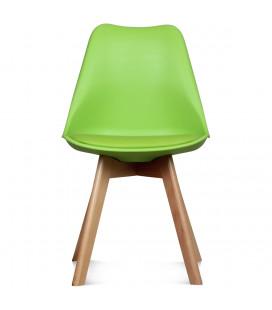 Chaise Copenhague Vert Pomme + Coussin