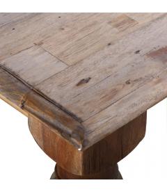 Table Bangkirai de 2.2M- 12 Personnes