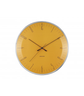 Horloge Silencieuse Karlsson Dragon Fly Jaune
