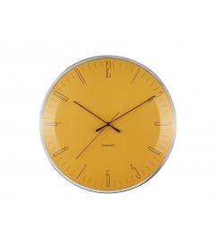 Horloge Silencieuse Karlsson Dragon Fly Jaune