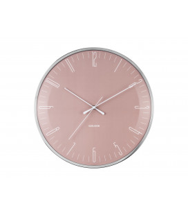 Horloge Silencieuse Karlsson Dragon Fly Rose