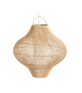 Suspension Ondines Fibres Naturelles Ø50cm