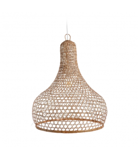 Suspension Fibres Naturelles Ø55cm H75cm
