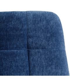 Chaise Manta Bleu Clair Chenillé