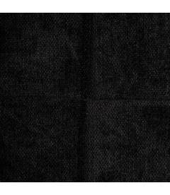 Chaise Manta Anthracite Noir Velours Chenillé