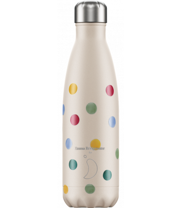 "Bouteille Isotherme 500ml Acier ""Emma Bridgewater Polka Dot"" Chilly's"