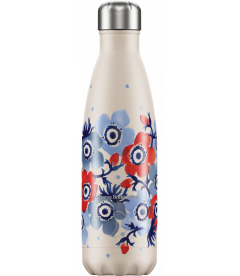 "Bouteille Isotherme 500ml Acier ""Emma Bridgewater Anémone"" Chilly's"