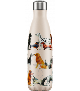 "Bouteille Isotherme 500ml Acier ""Emma Bridgewater Dogs"" Chilly's"