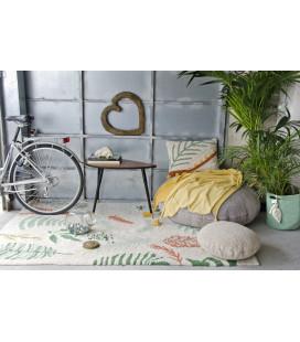 Tapis Lavable Botanic Plants Coton 140/200 cm