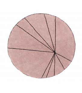 Tapis Lavable Trace Nude Ø160 cm