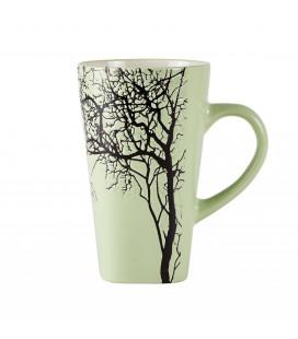 Mug XXL 0,50l Vert Motif Arbre