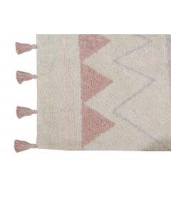 Tapis Lavable Coton Azteca Natural Nude 120/160 cm